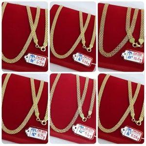 Jewelry - 18K Saudi Gold Necklace Chain